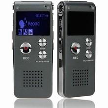 4GB Mini USB CL-R30 Digital Voice Recorder Pen 650Hr Dictaphone MP3 Player Grey gravador de audio(China (Mainland))
