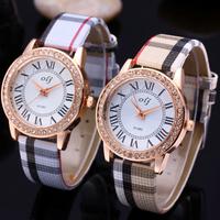 Fashion New Women Rhinestone Watches Brand NEW Leather Strap Women Dress Watches Quartz Women Casual Watch Relogio Feminino