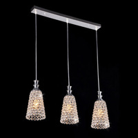 Details about Vepower FRHC 36 K9 Crystal Chandelier with 3 Lights, for Dining Room, Bedroom