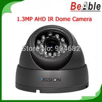 720P Resolution Security Camera 1.3MP IR Vandal proof Metal Dome HD Camera Compatible AHD DVR CCTV Camera