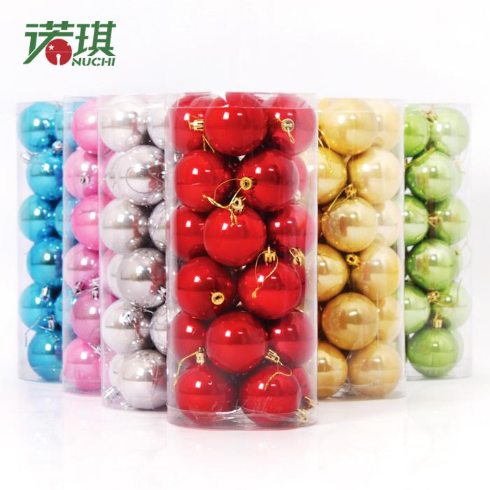 (20pcs/lot, free shipping) Pearlizing 10cm High Quality Christmas ball, Christmas Tree Decoration Orn