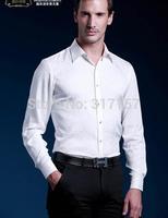 2014 new style  100% real silk Casual shirt men's shirt /silk men's shirts full sleeve/ black and white