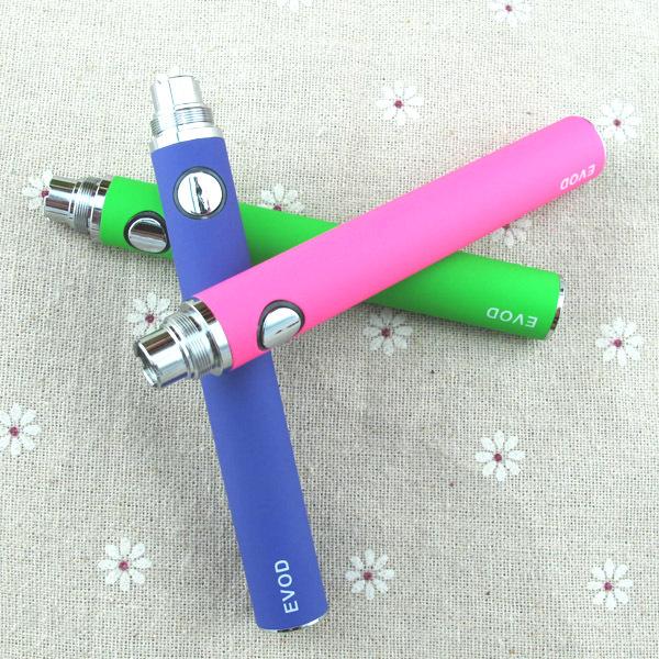 EVOD Rechargeable 650mAh 900mAh 1100mAh E cigarette Battery Electronic Cigarette Battery EVOD Battery for MT3 CE4