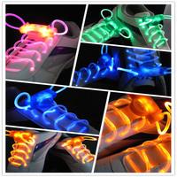 Hot-selling 2013 highlight the second generation led shoelace colorful led shoelace multicolour box