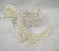 2014 New Fashions Simulated-pearl Detachable collar Personality Retail&Wholesale High Quality Comfortable Joker More Occtions