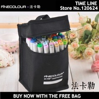 new Color Set Sketch Art Marker Pen Double tips For Artist Manga Graphic With free Bag cheap than Copic marker free shipping