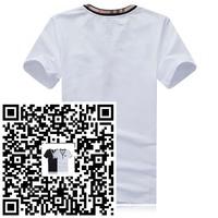 Mens Tees & T Shirts spring clothing New short shirt Men personality Men's slim fit Male Outwear lapel short sleeve T-shirt