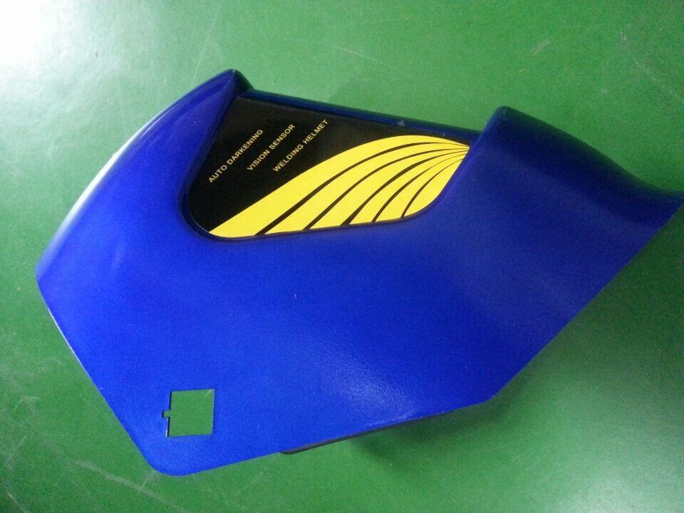 Automatically become light solar welding mask argon arc welding gas shielded welding welding helmet(China (Mainland))