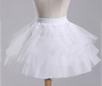 Ballet Boneless Short skirt Formal Dress Skirt short Wedding Petticoat Skirt Black And White