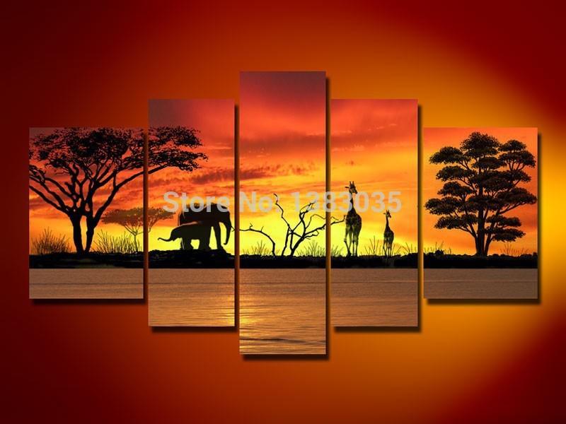 Online kopen wholesale olifant schilderij uit china olifant schilderij groothandel - Decoratie schilderij wc ...
