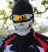 20pcs bicycle motorcycle Ghost biker skull hood face mask ski balaclava CS Sport helmet snood hat scarf cap neck Ghost Scarf