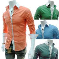 Free Shipping Rsan Long Sleeve Casual Shirt For Men