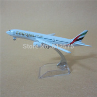 Emirates Airlines boeing B777 free shipping 16cm length 1:400 proportion alloy emulational white red color plane model