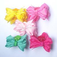Children Hair Bows Hairpins for Hair Accessories Girls Clips Hair Clips Barrettes   15 pcs/lot