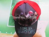free shipping 20pcs New Children hats Teenage mutant ninja turtles baseball hat hip hop baseball hat for Kids