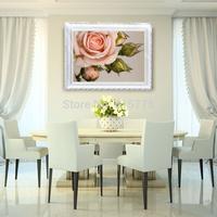 5D Romantic Love Rose Flower Diamond Painting DIY crystal FULL Round diamond Stitch Bedroom Decoration Needlework Cross Stitch