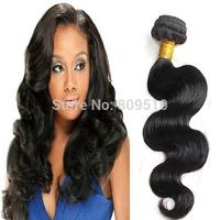 """Natural Cabelo Humano Hair Weft 14"""" - 30"""", Loose Wave, 100grams/ Piece, Natural Black Pelo Humano Hair Weaving, Free Shipping"""