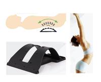 Free shipping Back Spine Spinal massage  Back pain support  Massager waist back stretching device Cervical spine massage
