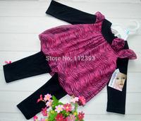 Wholesale baby girl suits kids set infant clothing cotton children clothes for Spring Autumn size 3M 6M 9M 12M 18M 24M