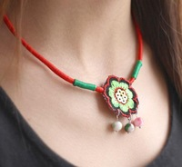 Free shipping,Original features embroidery necklace