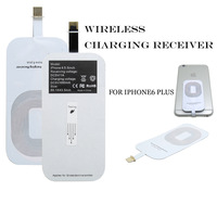 Qi Wireless charger Receiver Wireless Charging adapter 8 pin usb portable charger for iphone 6 6+ plusFree Shipping