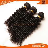 6a Cheap deep wave Peruvian hair unprocessed,3pcs lot peruvian culry hair weave,deep curly virgin hair extensions,100 human hair