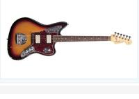 Create a  Guitar Custom JAGUAR model Guitar same in pics