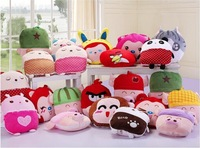 Wholesale brand Cute McDull pillow blanket,Creative cushion blanket,Office back cushion,Automotive air conditioning quilt