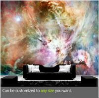 Free shipping custom modern 3D fresco the starry sky the living room TV backdrop zenith bedroom wallpaper wallpaper