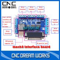 mach3 usb cnc controller mach3 breakout board usb to take power 1050340D
