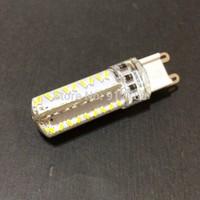 10pcs/lot G9 Super bright LED Lamp droplight 72SMD 3014 7W 220V Dimmable 10pcs/lot 360 Beam Angle LED Bulb lamp