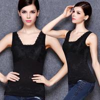 2014 deep vest super soft warm fashion vest women's thermal vest women's warm fashion vest size XL XXL XXXL free shipping