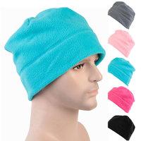 Fashion Unisex Women ladies Winter Hats Casual Fleece Beanie Skull Head Caps