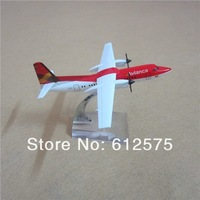 Avianca Colombia focke F-50 HK-4581 free shipping 14cm 1:180 proportion alloy emulational red  white color plane model