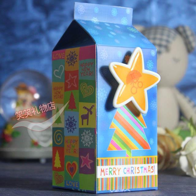 Из под молока музыкальная шкатулка , чтобы отправить подарок на день рождения лапута студенты творческих и практическая