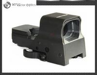 Vector Optics Omega Tactical Solar 8 Reticles HQ Military Reflex Red and Green Dot Sight Gun Scope w/ QD Mount 2015 New Arrival