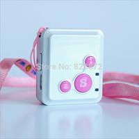 Miniature GPS tracker for Children Elderly locator device emergency distress alarm siren alarm, GPS1