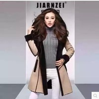 1675 # fur the new 2014 Sheep leather fur long coat coat of cultivate one's morality