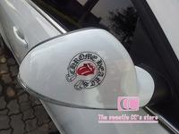 Unique Car Stickers 38*25cm one piece / Cartoon Words PVC Glue Stickers Transparent The Whole Car Body Sticker