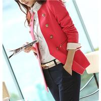 2014 women female blazer suit slim S-XL