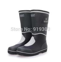 Brand New Men Fashion Rubber Warm Rain Boots Anti-slip Plush Mid-calf Rainboots Waterproof Water Shoes Good Quality  #TS186