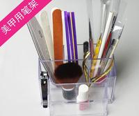 Hot ! New! Nail Display Nail Art Tools Holder Box Files Organizer Polish Plastic Case Makeup Tool New