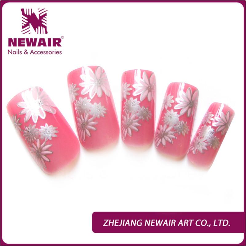 Wholesale Pink Nlack Grid Fashion Design Office Girl Fingernails ...