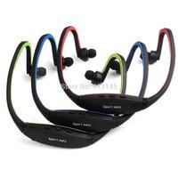 Wireless Sports MP3 Music FM Player Earphones Headphones for Gym Running Jogging