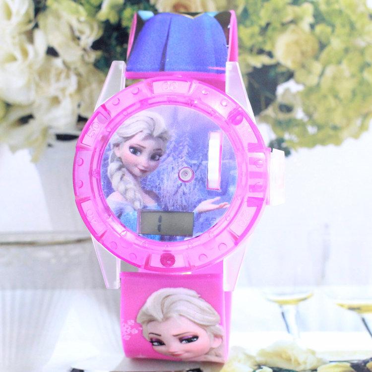 Cute Watch For Children Kids Girls Cartoon Watch Music Funciton A011(China (Mainland))