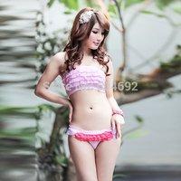 FreeshippingGirl Lady Ruffled Lace Bikini Briefs Knicker Lingerie Cozy Underwear Panties