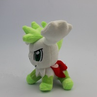 New Pokemon Plush Shaymin Sky Plush Toy Stuffed Dolls With Tag 17cm Free Shipping