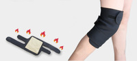 Free shipping Tourmaline self heating kneepad Magnetic Therapy knee support tourmaline heating Belt knee Massager 3 pairs/lot