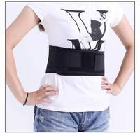 Free shipping hot selling tourmaline Waist Brace Support self Heating waist Magnetic Therapy Belt 3 piece/lot