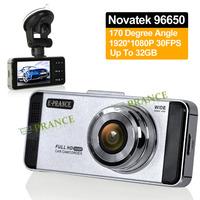 E-prance 2014 New AT88 Car DVR Video Registrator Camera Novatek 96650 1920*1080P 30FPS 170 Degree Advanced WDR SOS Snapshot OT30